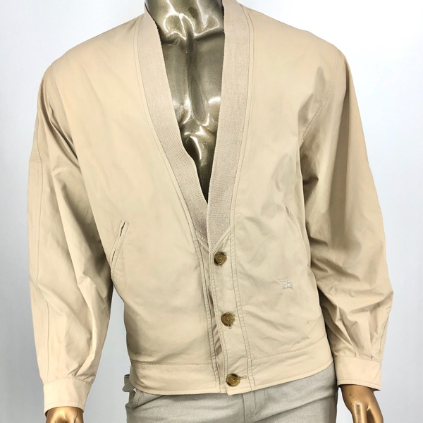 Burberry Light Jacket Cardigan Bomber Xxl