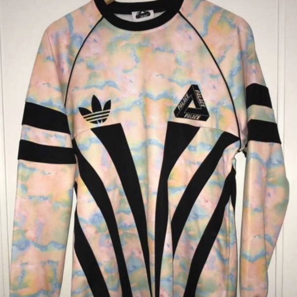 Top Palace X Adidas - Longsleeve Graphic Goalie