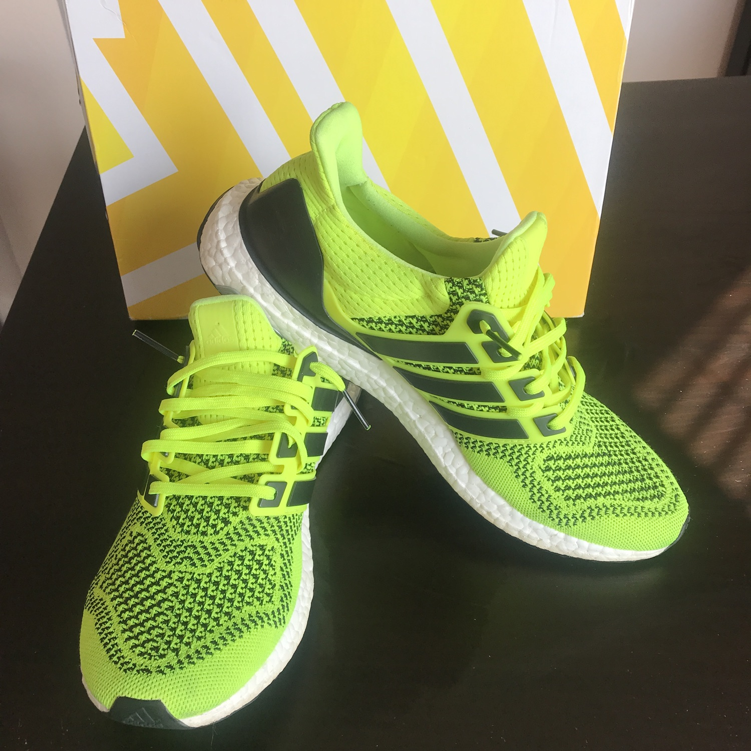 Adidas Ultra Boost 1.0 Solar Yellow | Sneakers men fashion