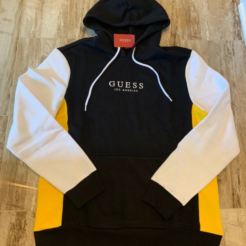 Guess Deadstock Vintage Embroidered Logo Hoodie