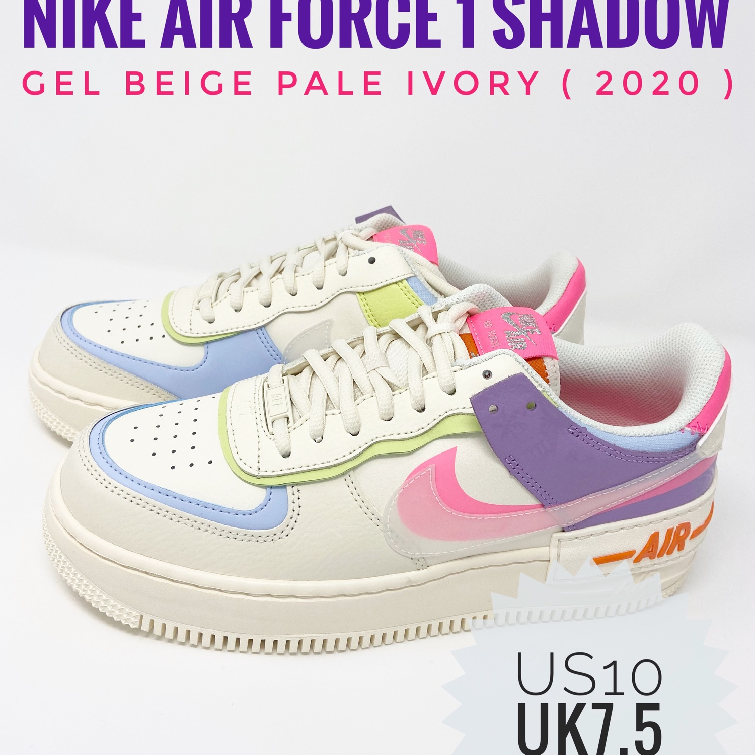 Air Force 1 Shadow Pale Ivory W However, travis scott's attention to detail is exactly how you can tell a real cactus jack from fake one. air force 1 shadow pale ivory w