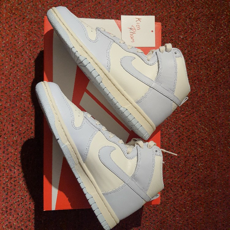 Nike Dunk High Football Grey Wmns
