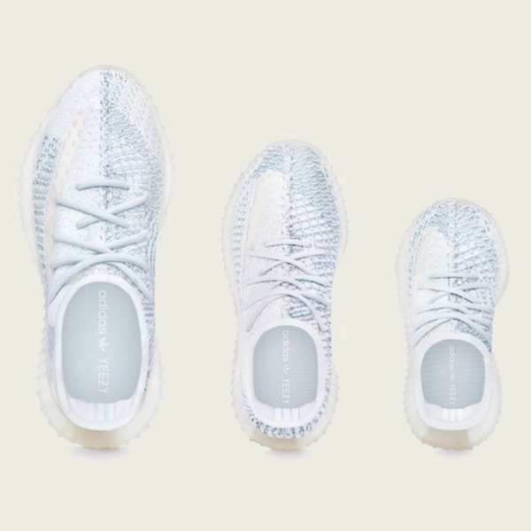 Adidas Yeezy Boost 350V2 Cloud White