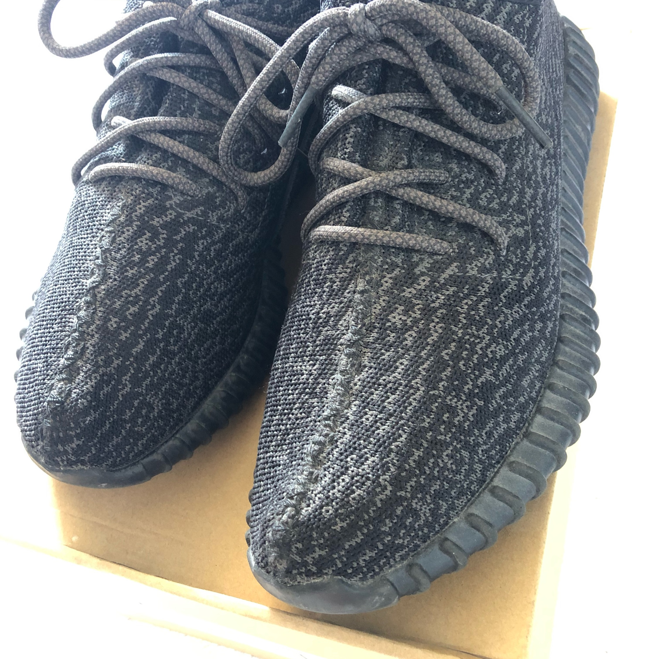 low priced 7e739 da646 Yeezy Boost Pirate Black V1