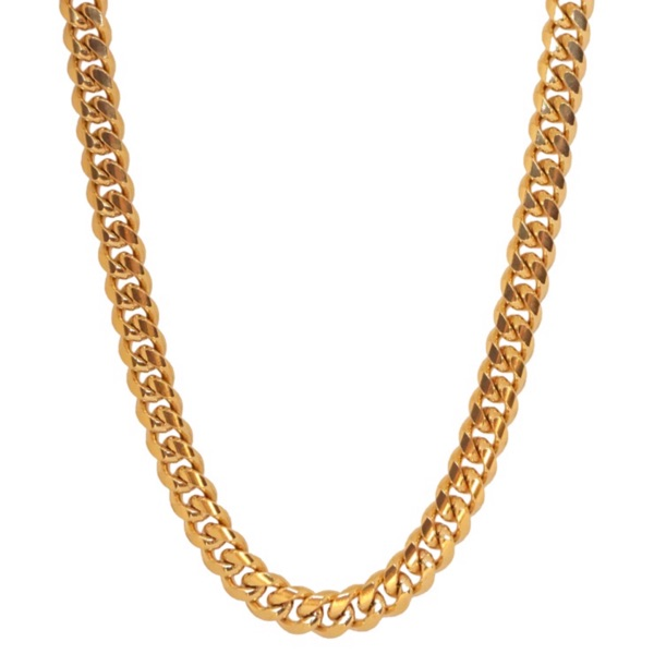 Cuban Gold Plated Chain