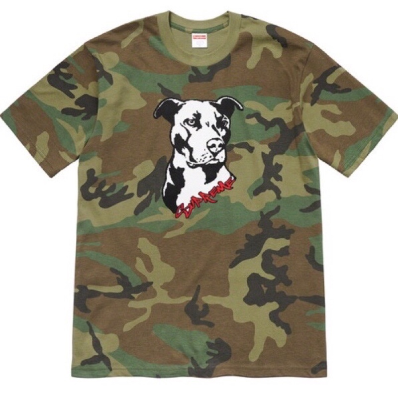 Supreme camo green medium t Shirt
