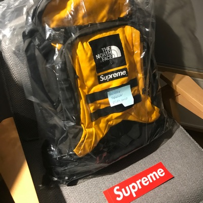 Supreme The North Face Rtg Backpack Yellow Gold