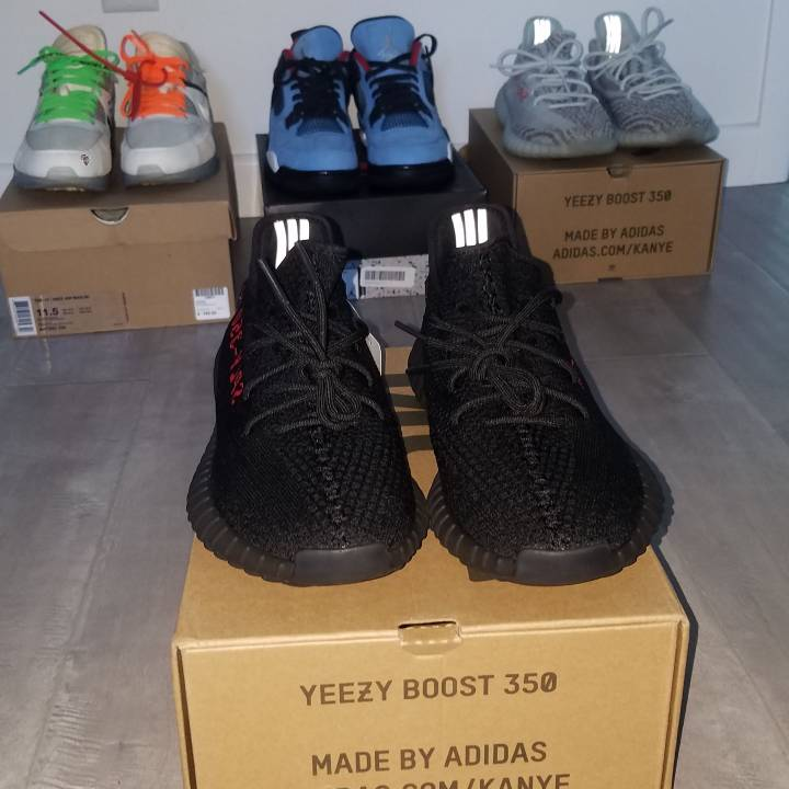 Adidas Yeezy Boost 350 V2 Bred Size 11, Deadstock and Authentic