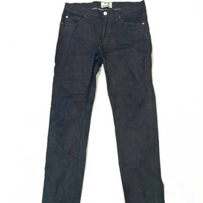 Acne Studios Commander Waxed Slave Black Coated