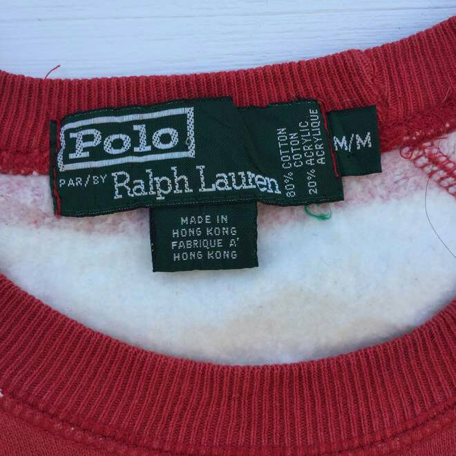 Vintage Polo Ralph Lauren Striped Red/White For Her
