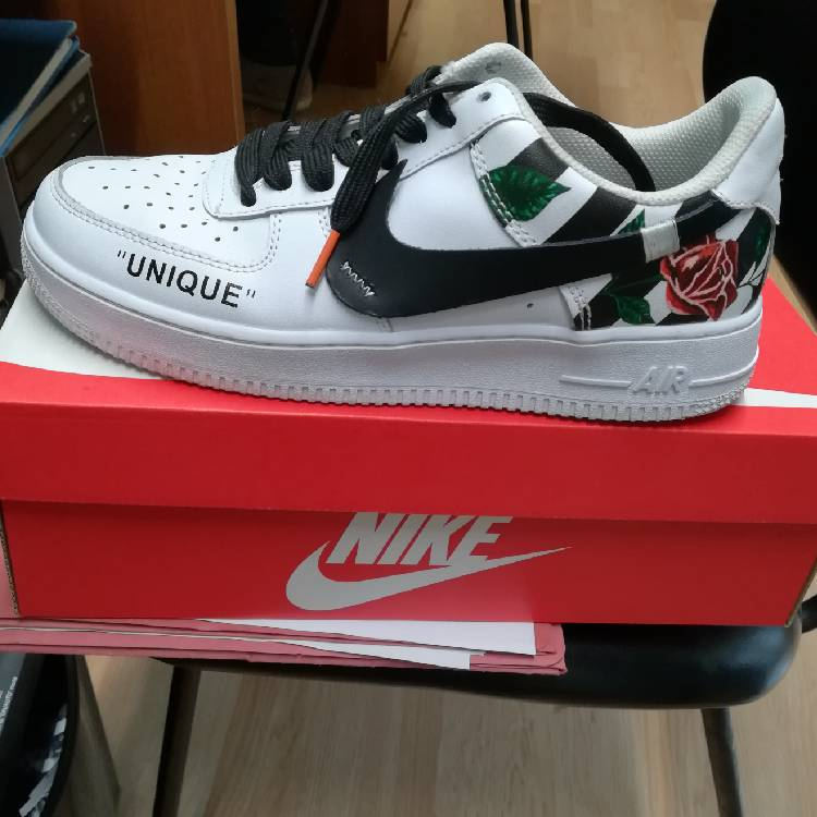pretty nice 5d9c9 63da2 Custom Off-White x nike air force 1 low