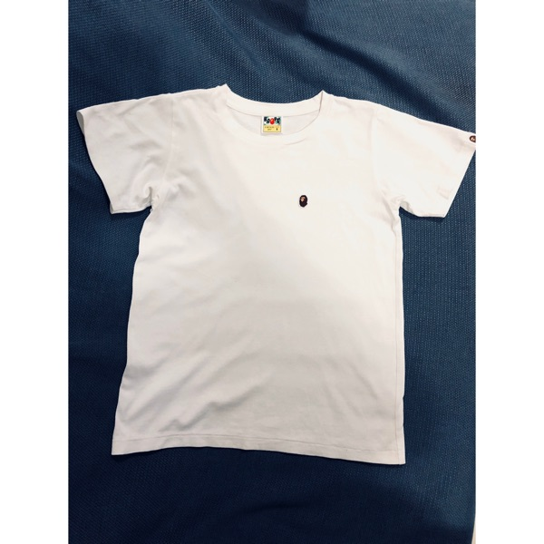 A Bathing Ape Bape Small Logo Tee (Ladies)