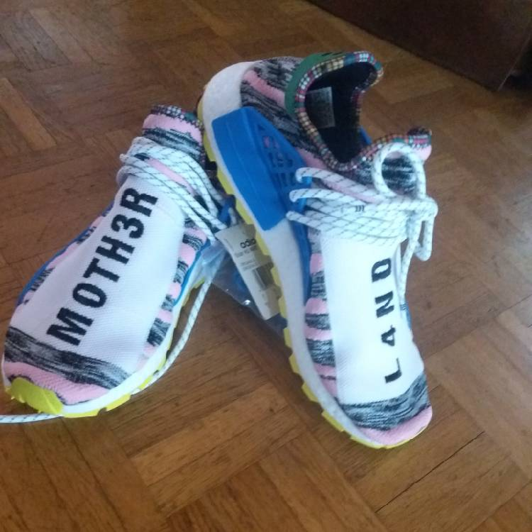 d3508c055 adidas Pharrell Williams X Human Race Solar HU NMD Mother Land ...