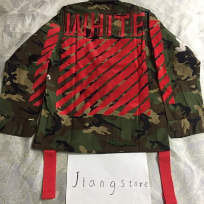 Offwhite Brand New 15Fw Camouflage Jacket