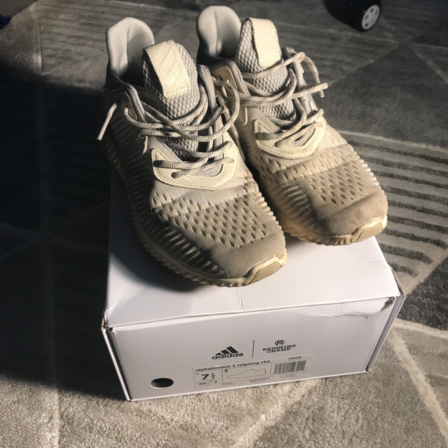 wholesale dealer fce4f 9aea9 Adidas Alphabounce 1 Reigning Champ