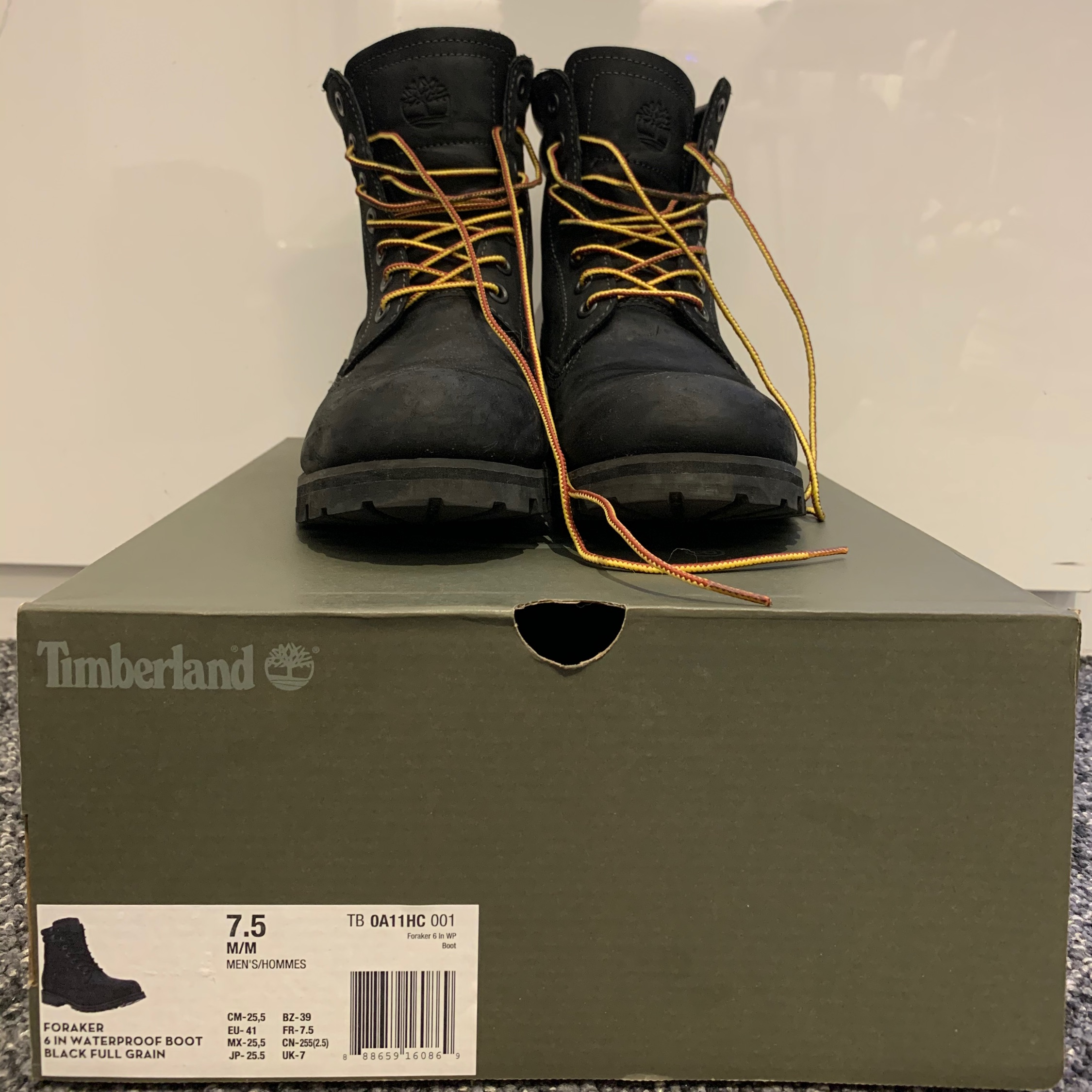Timberland Foraker 6 Inch Waterproof Boot Boots