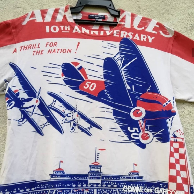 COMME DES GRACON  FULL Print Poster National Air Race At The Curtiss - Reynold Airport Chicago