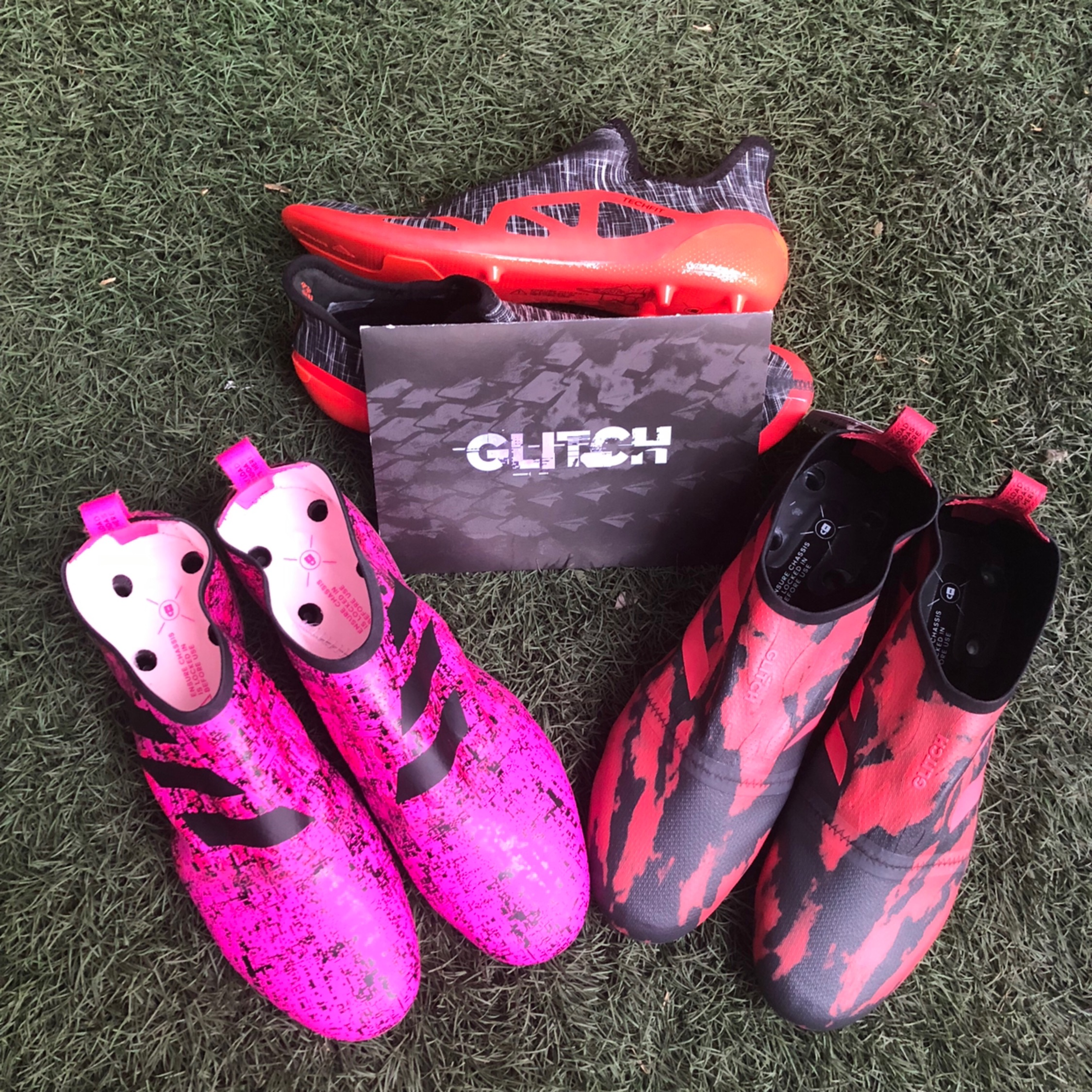Exclusive Adidas Glitch Football Boots