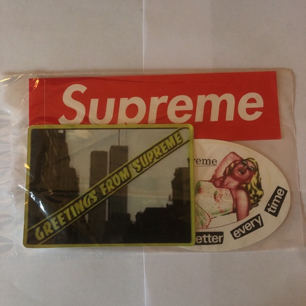 Supreme Sticker Pack
