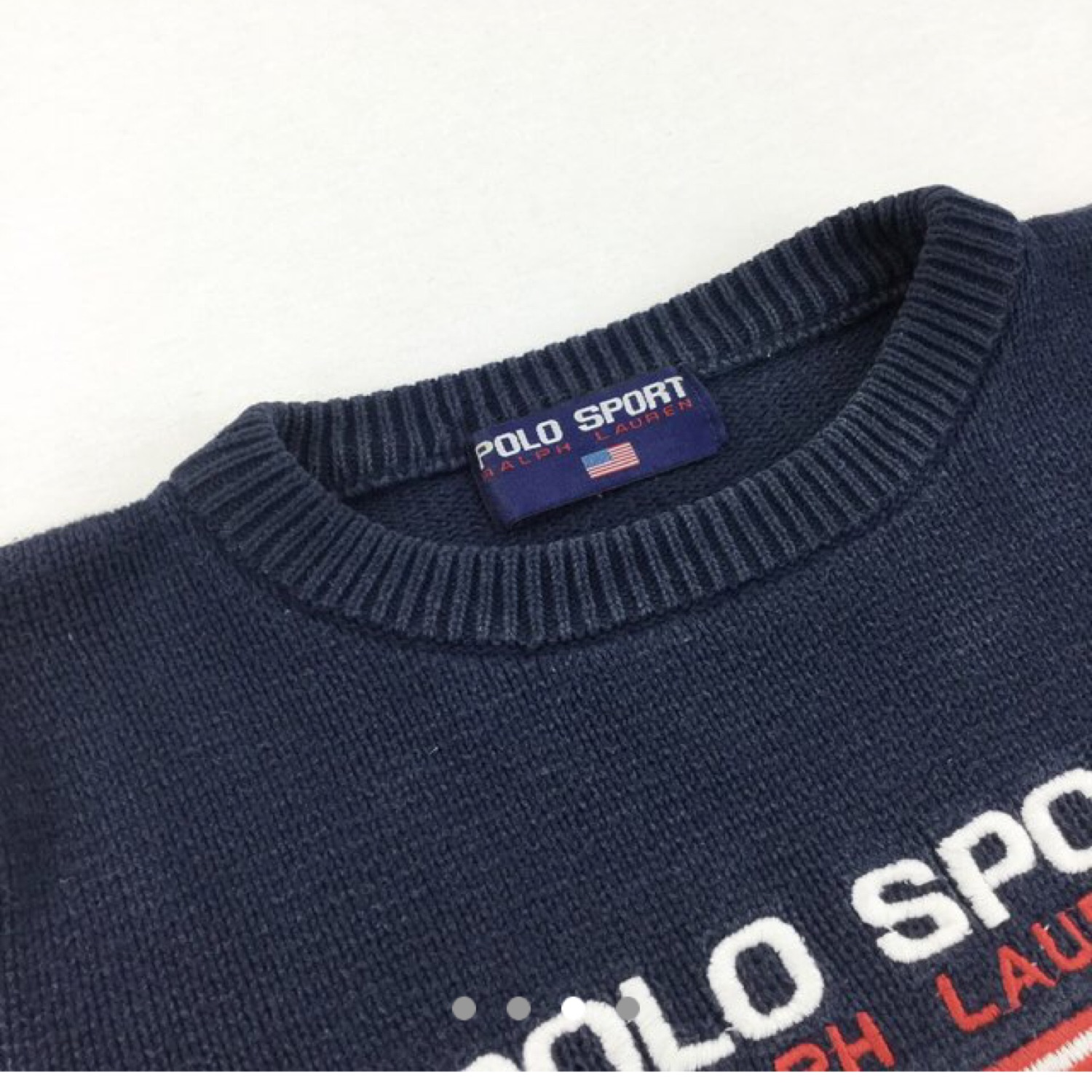 Ralph Lauren Polo Sport Knitted Sweatshirt