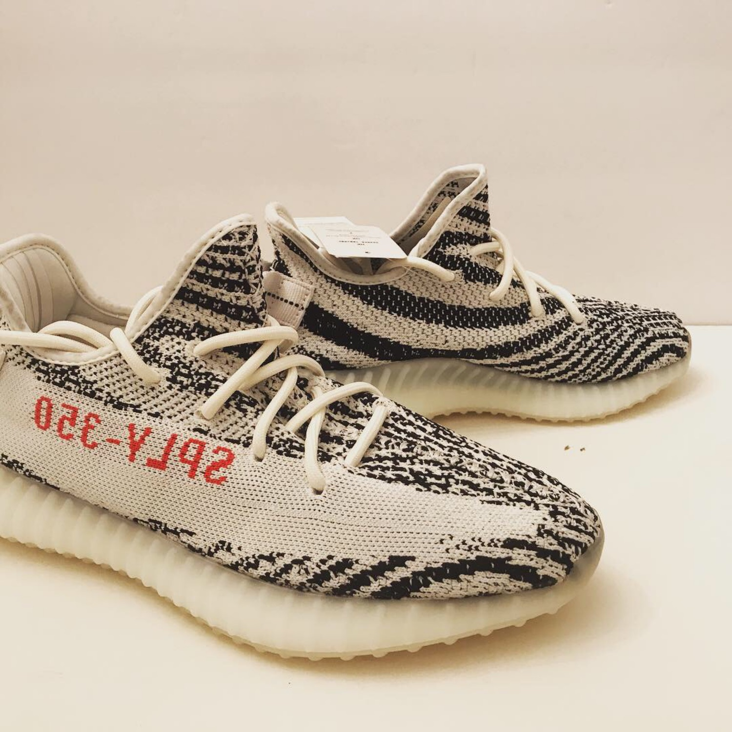 new product 25bed 4df2b Yeezy Boost 350 V2 Zebra 2018 Men's 8