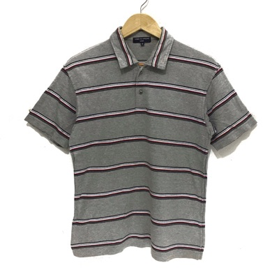 Comme Des Garcons Homme Polo Tee Striped Junya