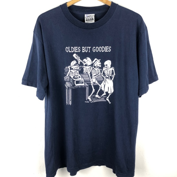Vintage Oldies But Goodies Skeleton T-Shirt