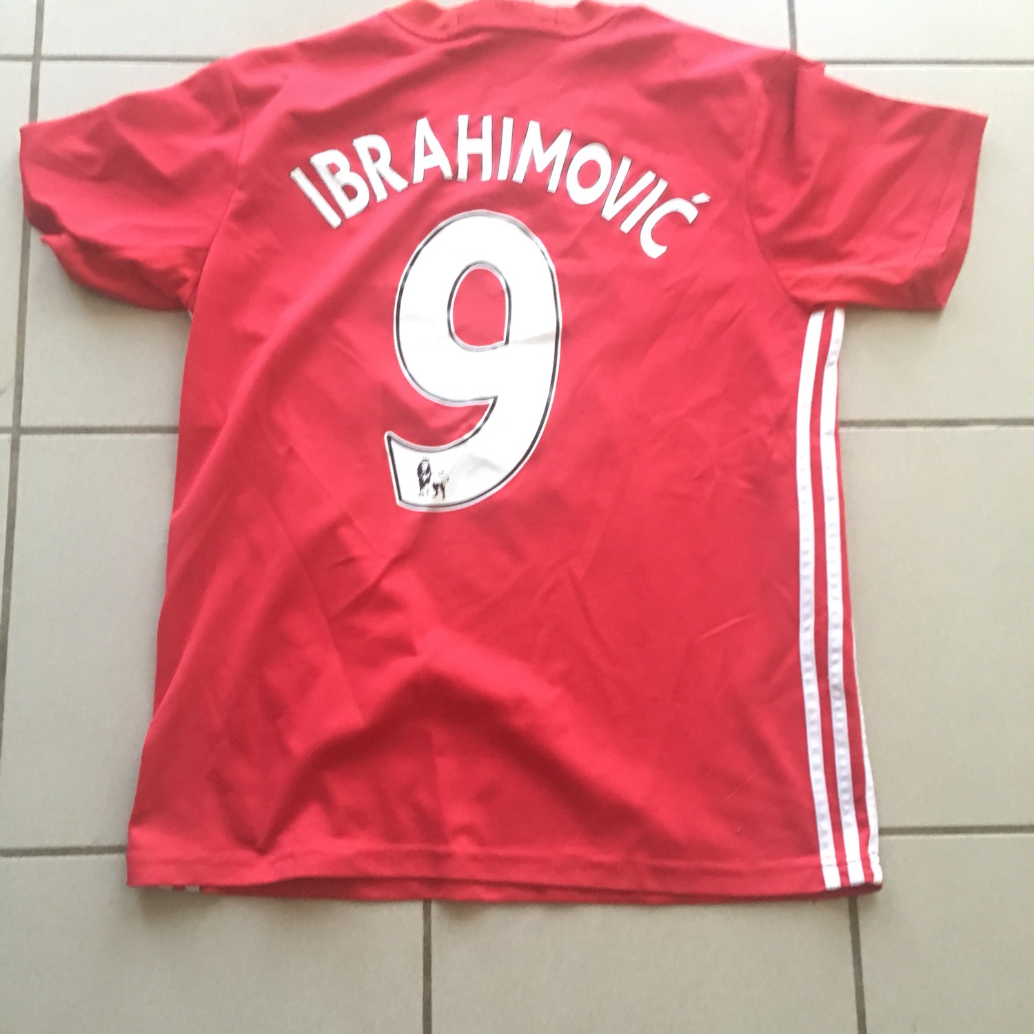 quality design 30a88 4a67d Zlatan Ibrahimovic Manchester United Jersey
