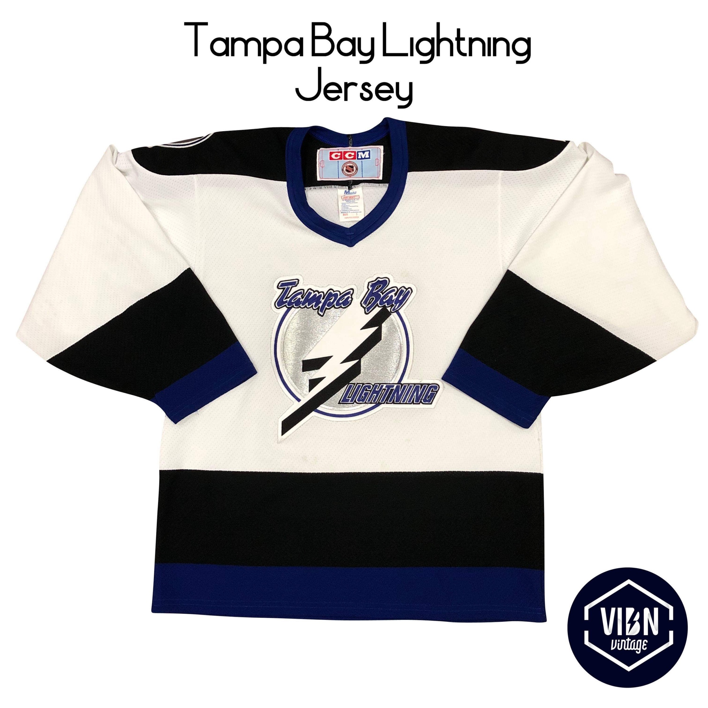 new style 189a2 bec7a Vintage Tampa Bay Lightning Jersey