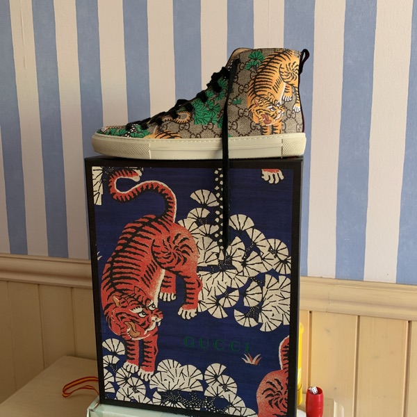 Gucci High Top Sneakers Bengal