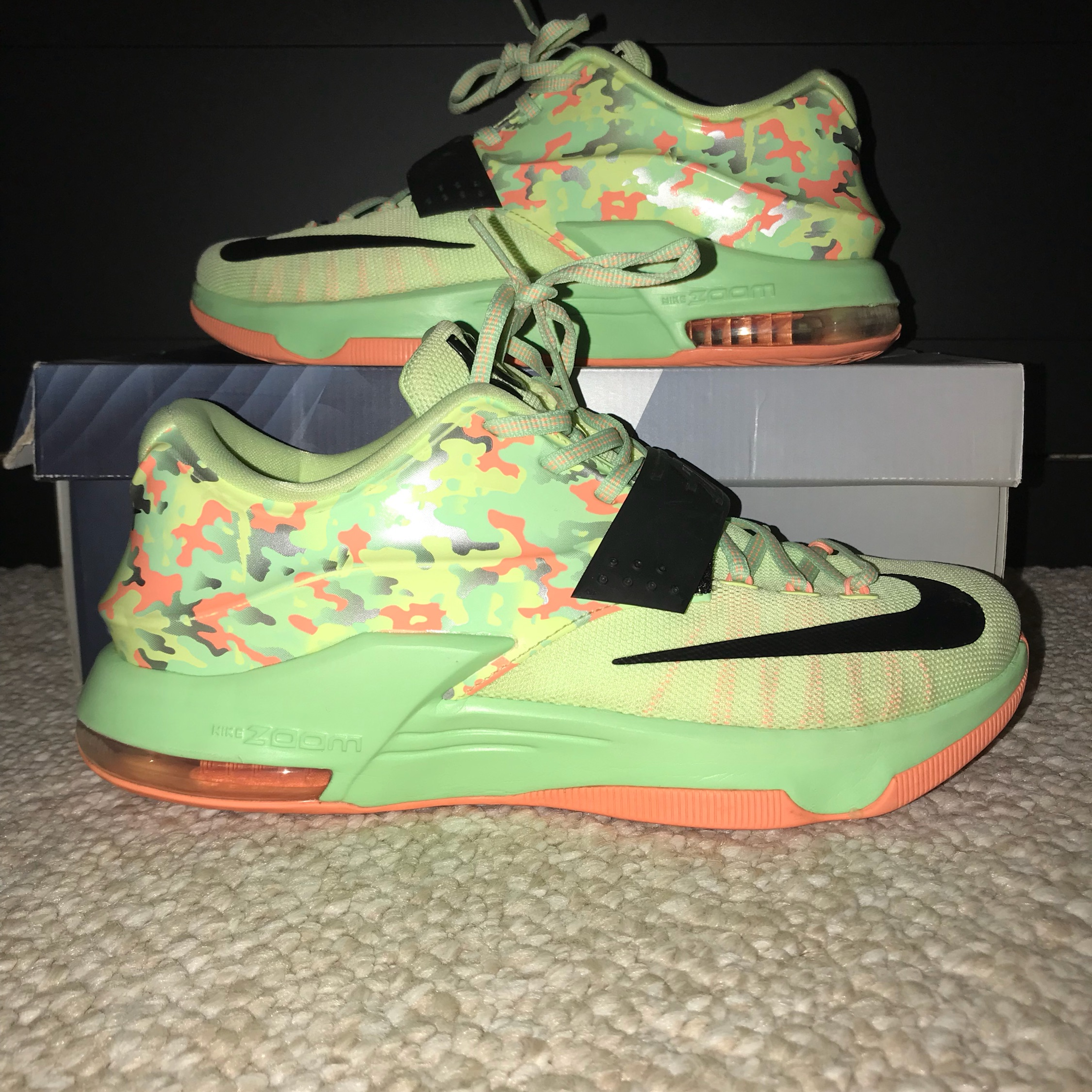 "official photos 2c1fb b3f71 Kd 7 ""Easter"" Size 10"