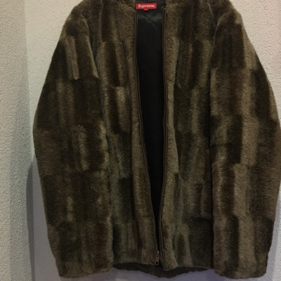 Supreme Faux Fur Jacket