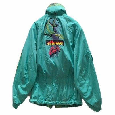 Vintage Ellesse Air World Tour Jacket