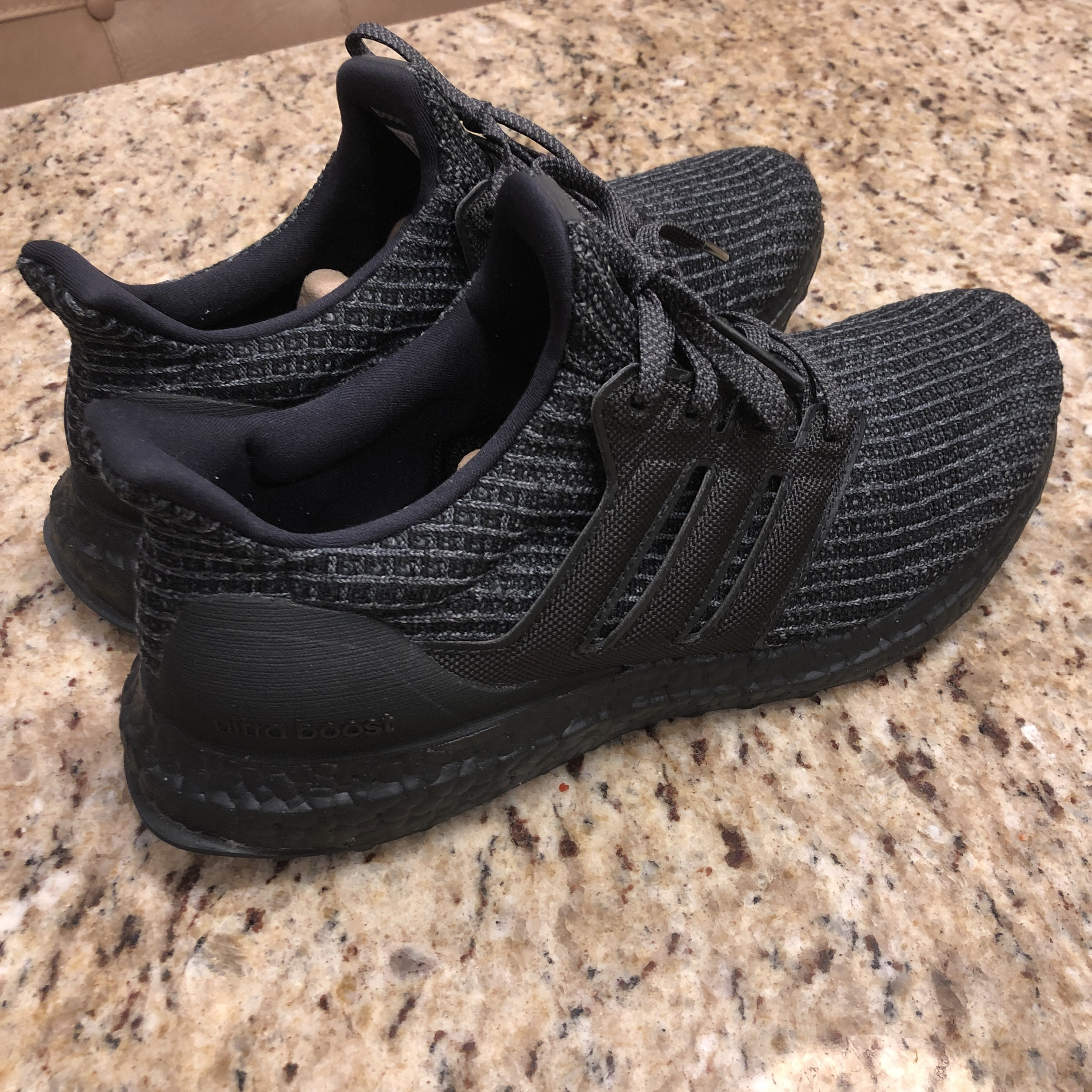 online retailer 2f0c4 23541 Adidas Ultra Boost 4.0 Triple Black