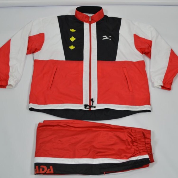 Mizuno Canada Olympic Team Issue Full Tracksuit