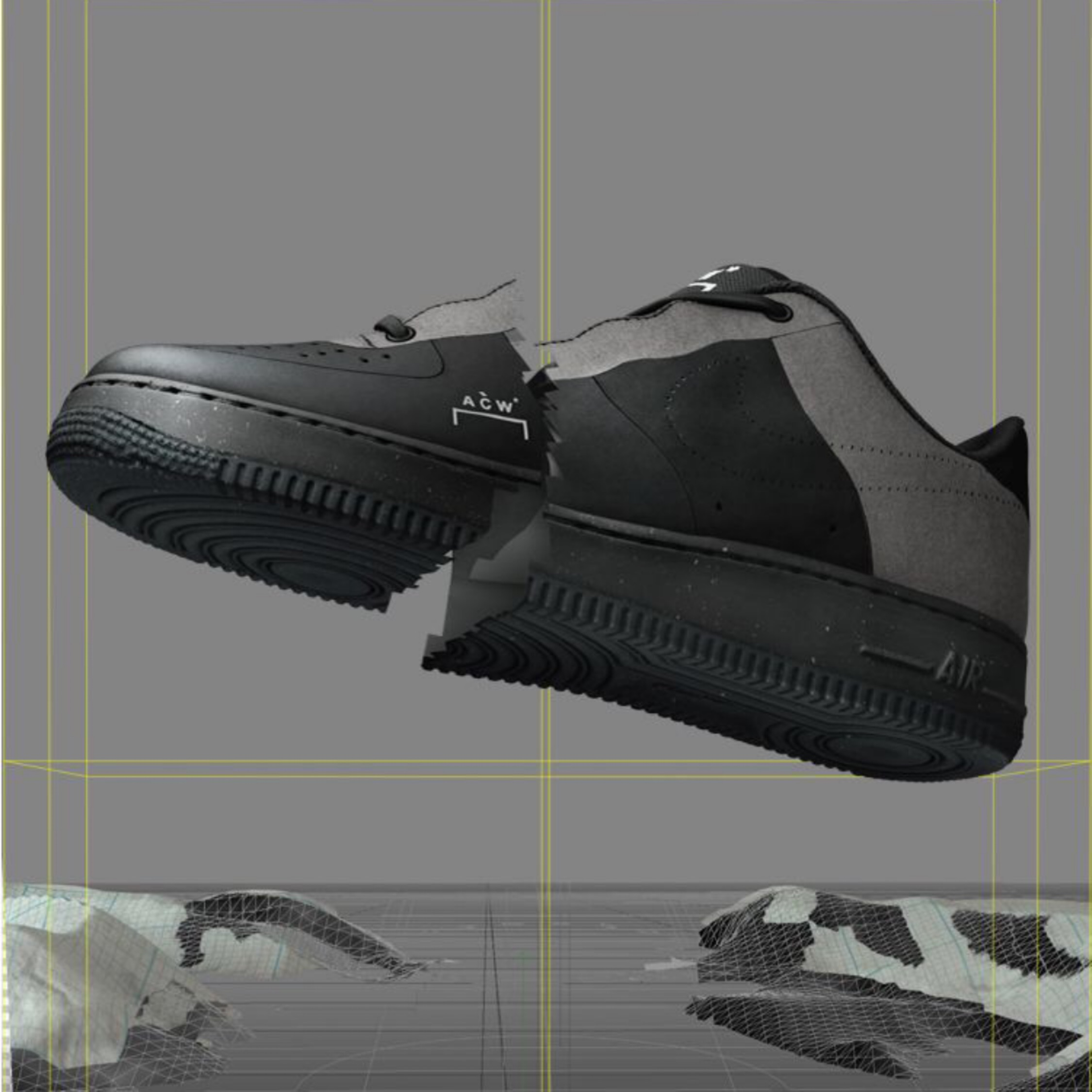 purchase cheap d99eb 6eff2 Nike Air Force 1 Low A-Cold-Wall