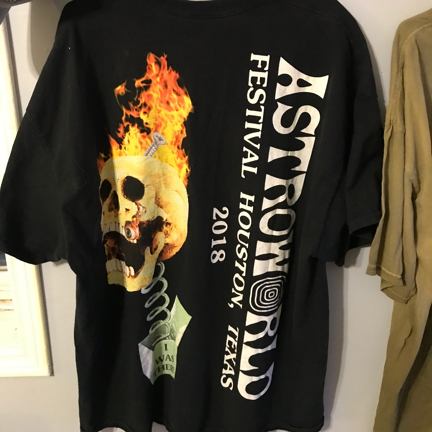 Travis Scott Skull In The Box Tee Black