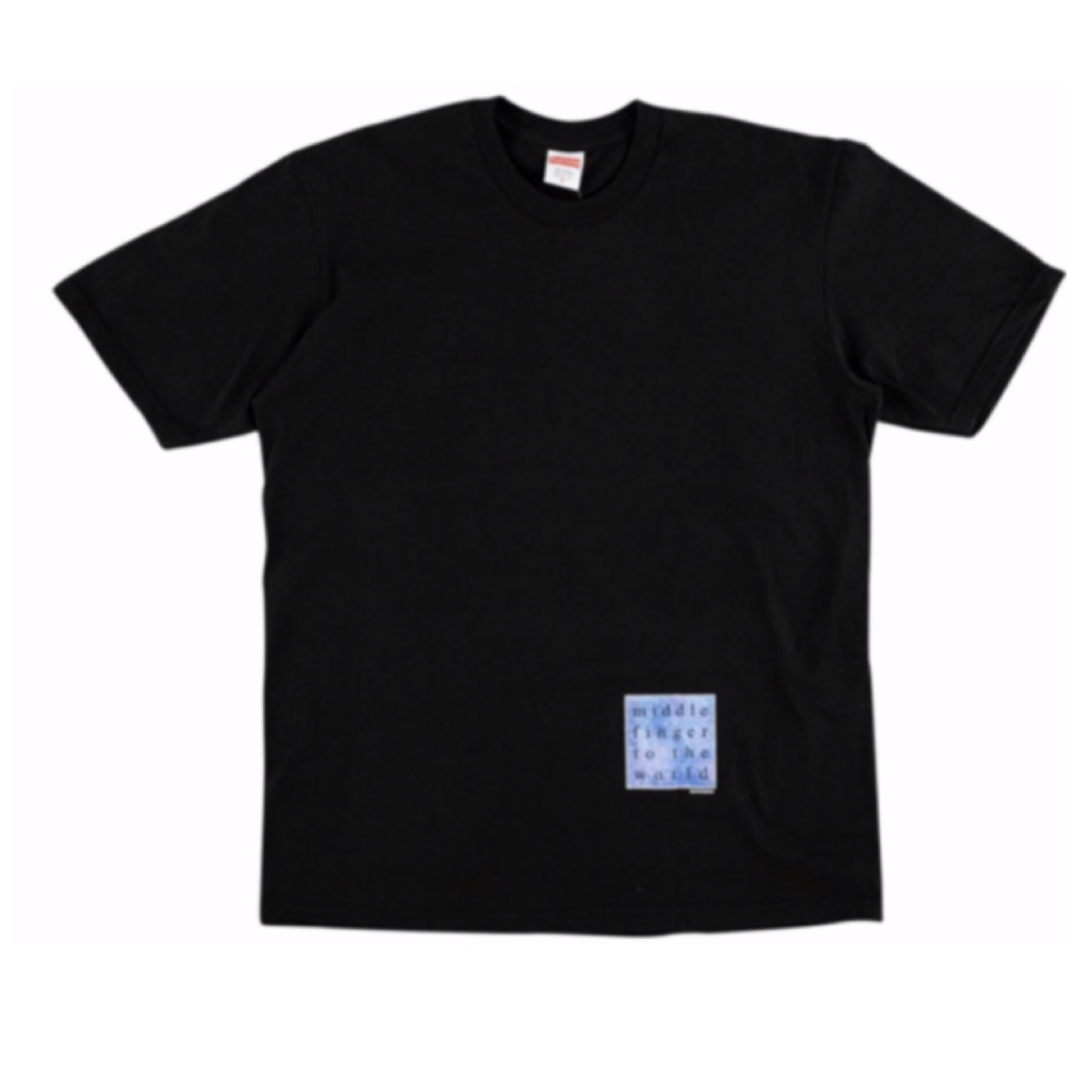 Supreme Middle Finger To The World Tee Black