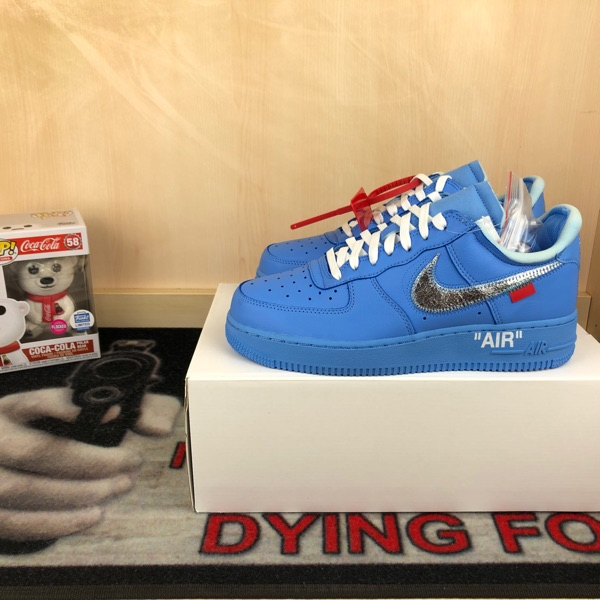Air Force 1 Low Off-White MCA University Blue