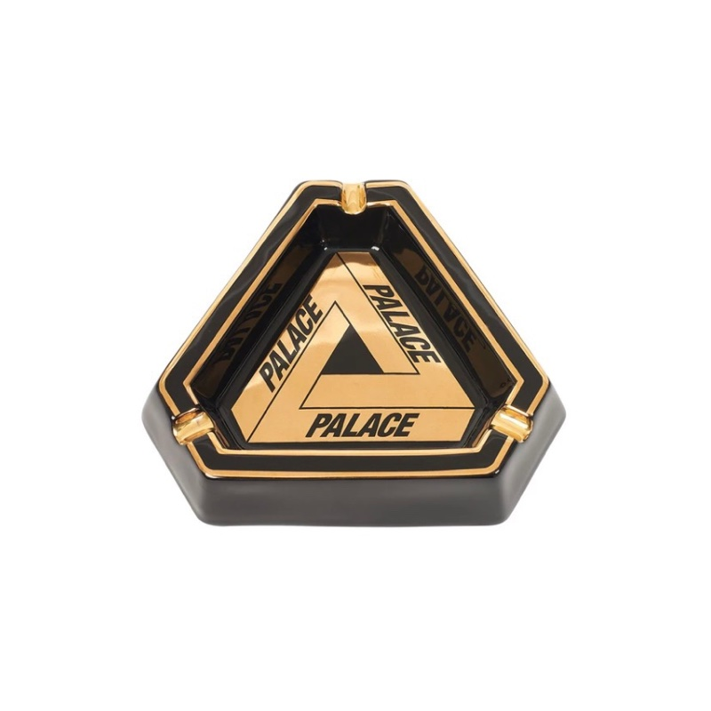 Palace Tri Ferg Ashtray Black Gold
