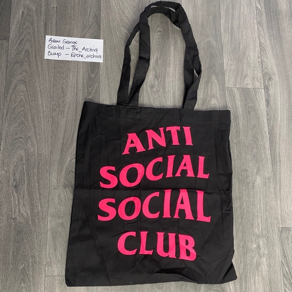 Anti Social Social Club Tote Bag