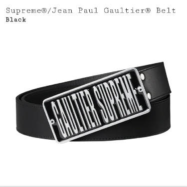 Jean Paul Gaultier X Supreme Belt S/M