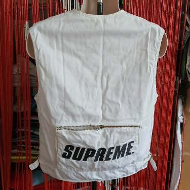 Ss16 Supreme S/S Vest Jacket Size Small S