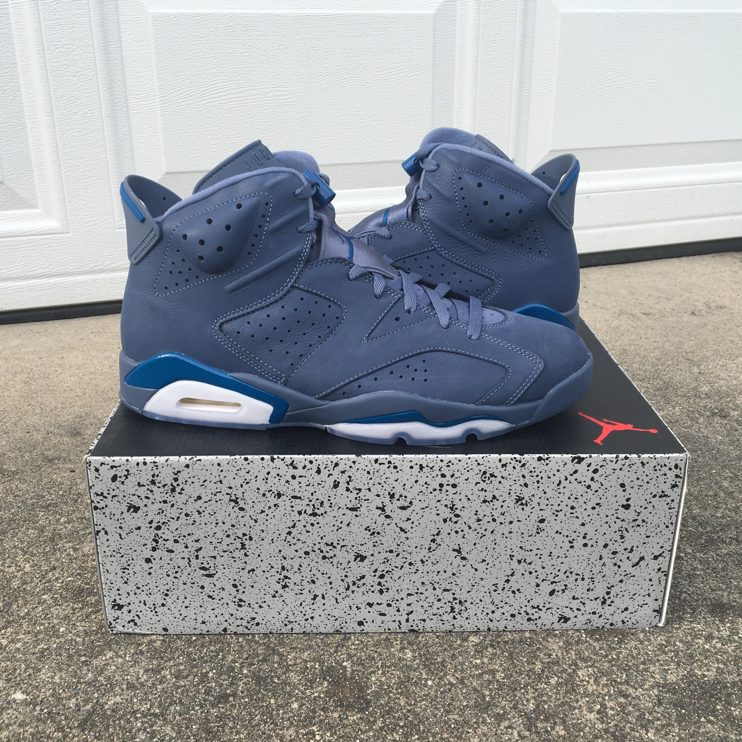 "big sale 74d21 2e75a Air Jordan Retro 6 ""Diffused Blue/Jimmy Butler"""