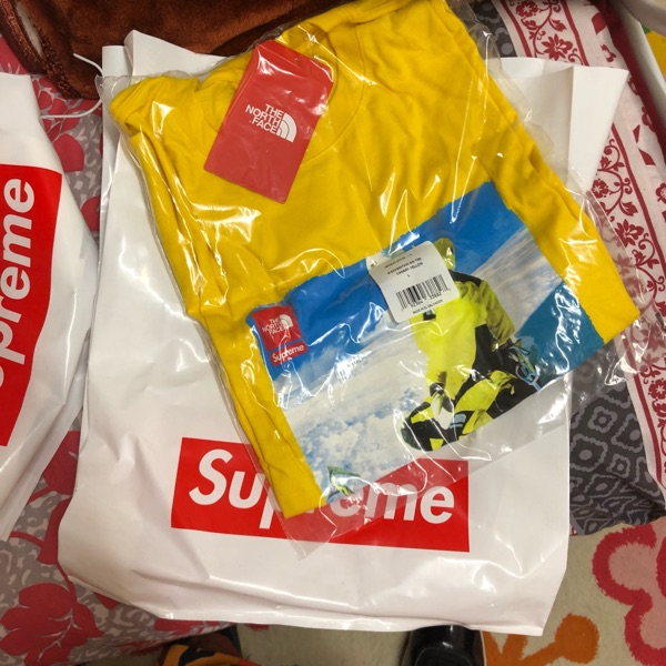 Supreme X Tnf Shirt