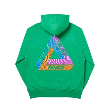 Palace Tri-Tex Hood Green