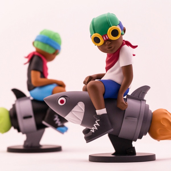 "Hebru Brantley Fly Boy - "" Beyond The Beyond """