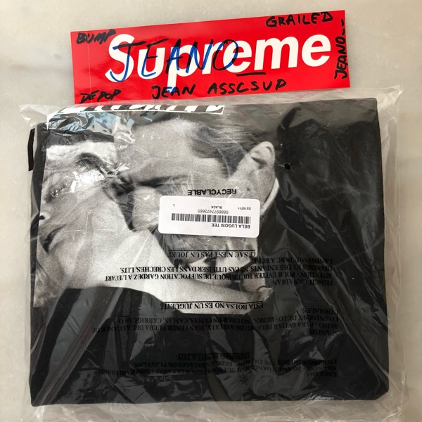 Supreme Bela Lugosi Tee Black Large (Ds)