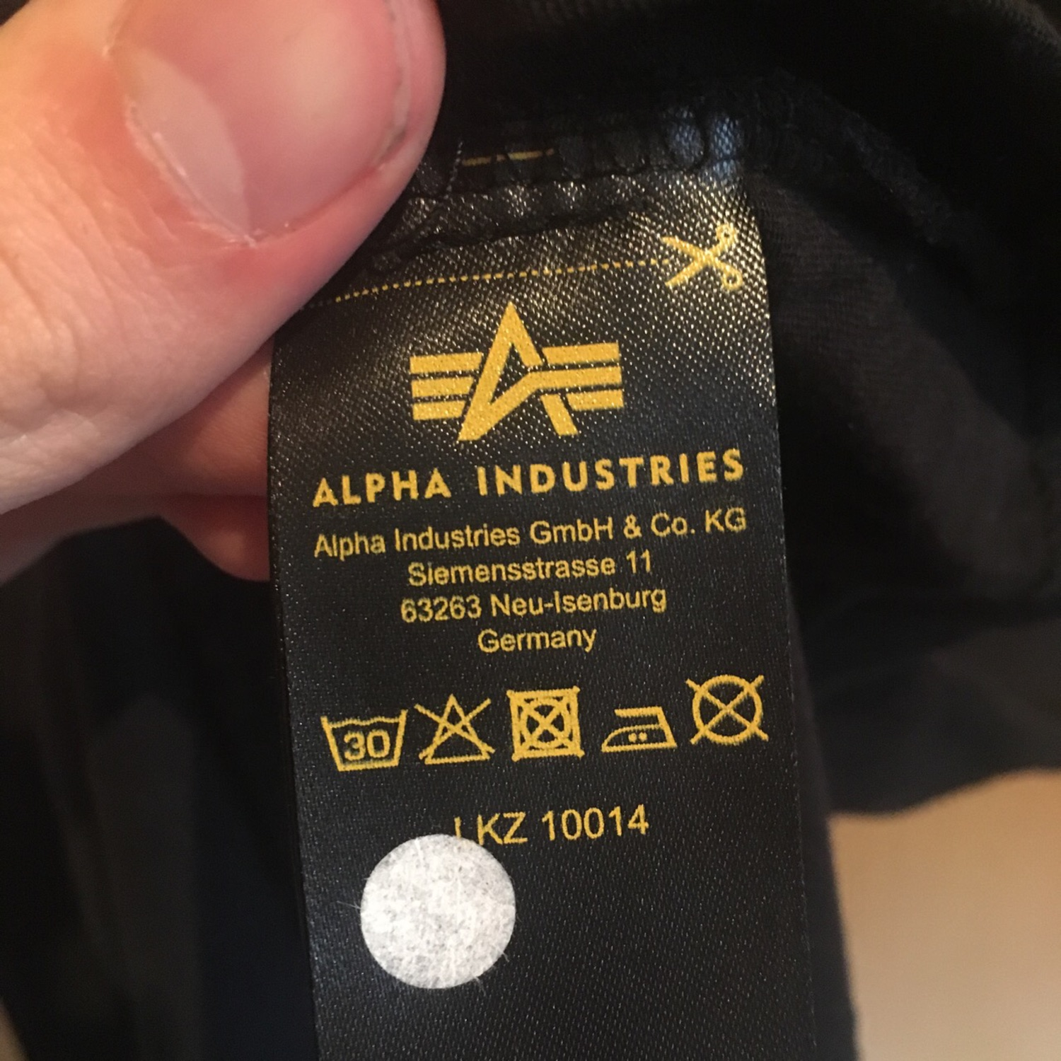 huge selection of 30abf 315ae Alpha Industries Tee