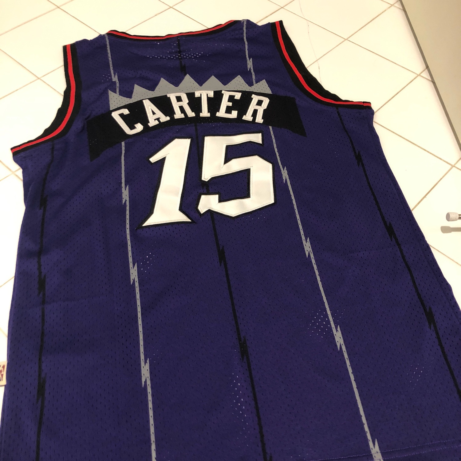 in stock b11e8 a8478 Mitchell & Ness Retro Vince Carter Raptors Jersey